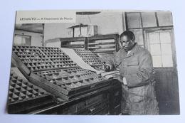 Lessaoto - à L'imprimerie De Morija - Lesotho