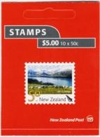 New Zealand 2007 Scenic 50c Lake Coleridge Mint Booklet - New Zealand