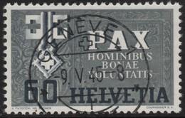 ~~~ Switzerland Schweiz 1945 - PAX - Mi.  453 (o) Used  - Cat. 20.00 Euro ~~~ - Schweiz