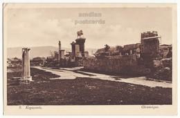 GREECE ATHENS Kerameikos Keramikos Ancient Cemetery Site Early View C1910s Vintage Postcard - Greece