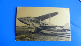 DH86, 1935. 12 PASSENGERS. 140 M.p.h. In Service On Quantas Brisbane/Singapore Sector Of Australia'first Overseas Air Ro - 1919-1938: Entre Guerres