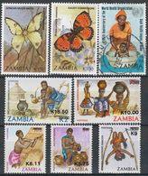 Zambie, Lot, Neuf - Oblitere - Zambie (1965-...)