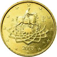 Italie, 50 Euro Cent, 2005, TTB, Laiton, KM:215 - Italie