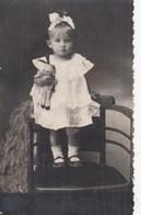 UKRAINE. #1828 A PHOTO. CHILDREN, GIRL WITH A DOLL ON THE CHAIR. *** - Proiettori Cinematografiche