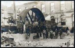 C4908 - Foto AK - 1. WK WW - Zerbomte Fabrik - Transmission Maschinen - Photographs