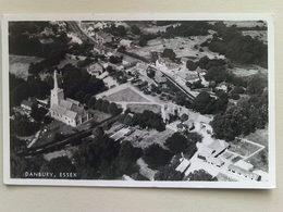 Black And White  Postcard -  Danbury, Essex - England
