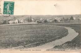 70 La Villeneuve Vue Générale Cpa Cliché Alexis Sylvestre Cachet 1910 - Autres Communes