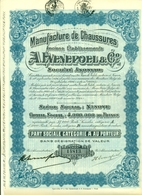 Manufacture De Chaussures A. Evenepoel - Zetel/siège Ninove - Actions & Titres