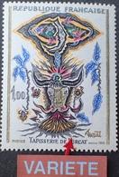 R1949/611 - 1966 - TAPISSERIE DE LURCAT - N°1493 NEUF** - VARIETE ➤➤➤ Flamme Brisée - Variétés: 1960-69 Neufs