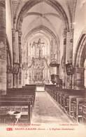 51 St Saint Amand L' église Interieur Collection Desenlis Vue Prise Avec Objectif Hermagis Cachet 1921 - Autres Communes