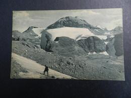 19930) LOCALITA' DA IDENTIFICARE GHIACCIAO ALPINO NON VIAGGIATA 1925 CIRCA - Cartoline