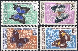 """Nle-Caledonie YT 341 à 344 """" Papillons """" 1967 Neuf** - Nouvelle-Calédonie"""