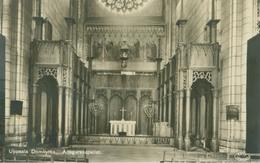 Uppsala 1934; Domkyrka. Ansgarskapellet - Circulated. (Granberg - Stockholm) - Zweden