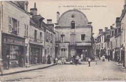CPA - STE MAURE  - SAINTE MAURE - Rue Du Docteur Patry - Place De L'Aumône - Autres Communes