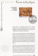 """"""" GROTTE DE ROUFFIGNAC """" Sur Notice Officielle 1er Jour 2006 De France. N° YT 3905. Parfait état. - Préhistoire"""