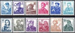 Romania 1955 Scott 1024-1033 MNH Activities, Jobs, People - Nuovi