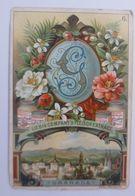Liebig, Serie Städte, Buchstaben, Granada,  Nr.6  ♥  - Liebig