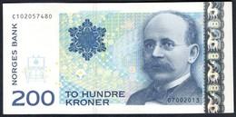 Norway - 200 Kroner 2013 - P50f - Norvegia