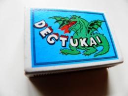 Matchbox Lithuania Degtukai Dragon - Boites D'allumettes