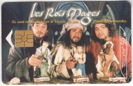 """Lot De 1 TC De 2001 Usagées. """"Les Rois Mages"""". Y & T : 1261 - France"""
