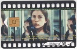 """Lot De 1 TC De 2001 Usagées. """"Cinéma"""". Y & T : 1271 - France"""