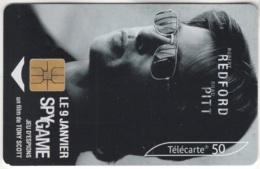 """Lot De 1 TC De 2001 Usagées. """"Spy Game - Brad PITT"""". Y & T : 1272 - France"""