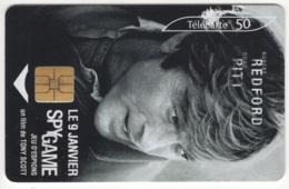 "Lot De 1 TC De 2001 Usagées. ""Spy Game - Robert REDFORD"". Y & T : 1273 - France"