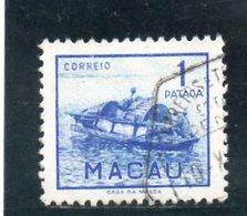 MACAO 1951 O - Macao