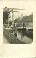 Carte-photo -  MENNETOU-SUR-CHER  ?  - Pont-Levis - France