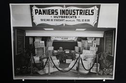 Bruxelles - Huybrechts, Paniers Industriels - 50-52, Rue De Stassart,Véritable Photo Sur Papier Glacé  - 22x17 Cm - Ambachten