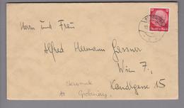 Heimat AT Steiermark Brörming 1939-06-10 Brief Nach Wien - Lettres & Documents