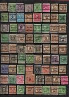 U.S Collection Of 477 Precancels - Vorausentwertung - Precancels