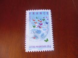 OBLITERATION RONDE  SUR TIMBRE Yvert N° 129 - Frankreich