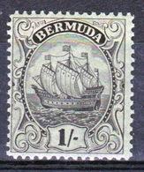 Bermuda George V 1/- Single Stamp From The 1922 Definitive Set. - Bermuda