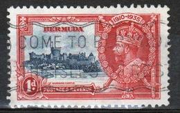 Bermuda George V 1d Single Stamp From The 1935 Silver Jubilee Set. - Bermuda