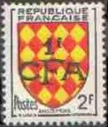 Réunion N° 309 ** Blason - Armoiries - Région Angoumois - Ungebraucht