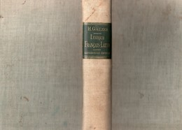Lexique Français Latin - Garnier Frères Editeurs 1906 - 12-18 Ans