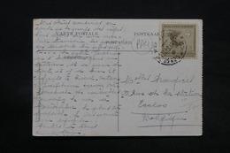 CONGO BELGE - Oblitération Paquebot Sur Carte Postale Pour La Belgique - L 28330 - Congo Belge