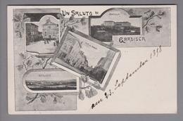 AK IT Friaul Gradisca 1898-09-23 Foto - Autres Villes