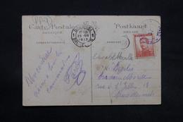 BELGIQUE - Oblitération Paquebot Sur Carte Postale Pour La Belgique En 1913 - L 28331 - Belgique