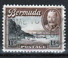 Bermuda George V 1½d Single Stamp From The 1936 Definitive Set. - Bermuda