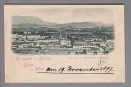 AK IT Friaul Gorizia 1897-11-19 Fotokarte E.Niggl - Autres Villes