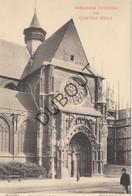 Reclamekaart Brussel Sablon Nels Groot Formaat 14 X 21 Cm Achteraan Reclame Van E. D'Hondt- Van De Wiele Brugge (n302) - Bruxelles-ville