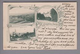 AK Slowenien Bregana-Dolina 1899-03-12  Jessenitz Fotokarte - Slovénie