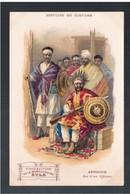 ETHIOPIE Histoire Du Costume - Abyssinie -Ras Et Ses Officiers  Ca 1910 OLD  POSTCARD - Ethiopië