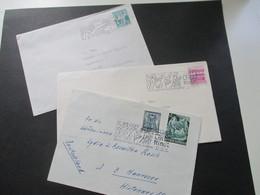 Österreich 1966 Und 1967 Christkindls SST 3 Belege / 1x Mit Inhalt. Vom Himmel Hoch Ihr Engleich Kommt - 1945-.... 2. Republik