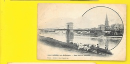 LANGON Pont Sur La Garonne Moutons Berger (Guillier) Gironde (33) - Langon