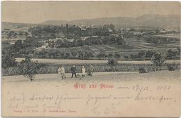 3047v: AK 3552 Droß, Gruß Aus...., RR- Heimatbeleg Der Kleingemeinde Aus 1898 - Krems An Der Donau
