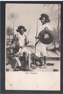ETHIOPIE Deux Abissynes Ca 1910 OLD  POSTCARD - Ethiopië