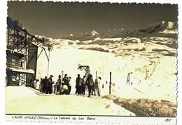 Alpes D'huez  Le Téléski Du Lac Blanc Roby Gaufré N°267 - Francia